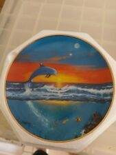 Franklin Mint Limited edition Dolphin Plates X8