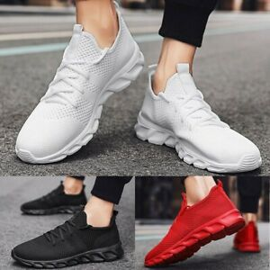 Mens Athletic Running Casual Sneakers Sports Trainers Tennis/Fitness Shoes Gym