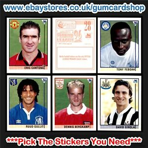 Merlin's Premier League 96 (500 to 530) *Please Select Stickers*