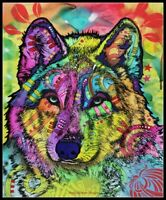 The Stare of the Wolf - Chart Counted Cross Stitch Pattern Needlework Xstitch