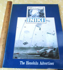HURRICANE INIKI,1992,Jim Borg,Richard Ambo,1st Ed,Illustrated