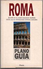 PLANO Y GUIA - ROMA - ILUSTRADO - 1994