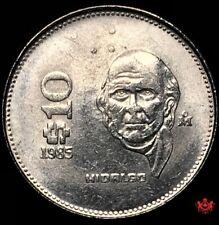 1985 Mexico 10 Pesos - Lot#W172