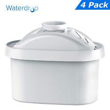 4 x Waterdrop CARTUCCIA FILTRO RICAMBIO PER Laica Bi-Flux, Bosch Tassimo