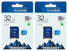 32GB Micro SD Trekshot Memory Cards (2 Pack) for DJI Mavic 2, Pro, Zoom & Spark