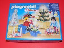 Playmobil Christmas 9495 Christmas Room 2/ Light Up Tree NIP!