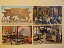 China Peking 1930's Color PC Summer Palace Set of 8 (D)