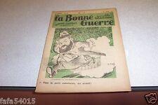 REVUE SATIRIQUE LA BONNE GUERRE 30 mars 1935 CARB