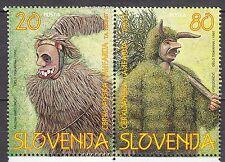 SLOVENIA 1997**MNH SC#  281 - 282 Carnival Costumes