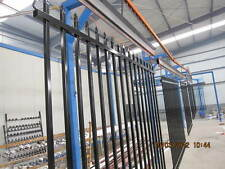 Security Fence. Tubular Fencing steel spear top Black Fence Panels- $125.00 each