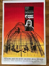 Large Movie Poster Planet of the Apes 430mm x 640mm