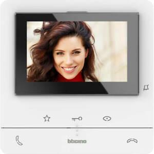 BTICINO 344652 VIDEOCITOFONO 2 FILI VIVAVOCE DISPLAY LCD CLASSE 100 MONITOR