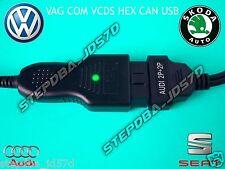 VAG COM VCDS 18.2.0 1990 2019 HEX CAN USB OBD 2 COMPLETE DIAGNOSTIC KIT VAGCOM