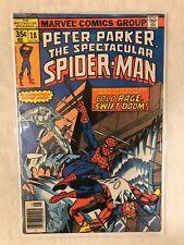 Peter Parker: The Spectacular Spider-Man #18 1978 Marvel Comics FN+/VF-