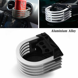 1X  Car Cup Holder Auto Air Outlet Drink Bracket Adapter Cup Aluminium Alloy