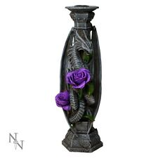 Gorgeous Anne Stokes Dragon Beauty Candlestick - Nemesis Now