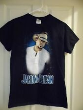 JASON ALDEAN CONCERT TOUR  T-SHIRT BLACK ADULT SMALL - FREE SHIPPING