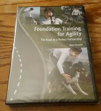 Foundation Training for Agility (DVD) Moe Strenfel dog relationship how to NEW