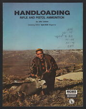 Handloading Rifle and Pistol Ammunition - Reprinted by Rcbs