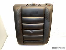 Rear Seat Back Ns-Black Leather-(ref.581)-06 Volkswagen Touareg 3.0 Tdi