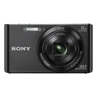 Sony DSC-W830 Cyber-shot Digital Camera (Black)