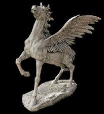Pegasus Winged Horse Garden Sculpture Statue