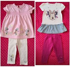 Disney Minnie Mouse Baby Girl Summer outfit set size 9-12 months