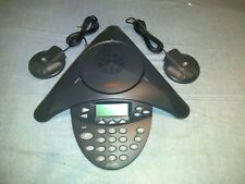 Avaya 1692 IP Conference Station w/2 exp mics & cords 2201-15680-001 700473689