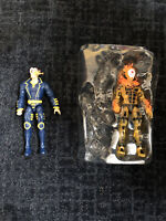 marvel legends loose figures lot (x-man And Sunfire) No BAF Pieces Included M