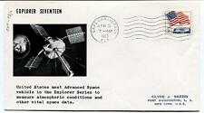 la63 Explorer Seventeen Space Vehicle Atmosphere Vital Data Cape Canaveral USA