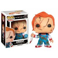 Scarred Chucky Bride of Chucky Exclusive POP! Movies #315 Vinyl Figur Funko