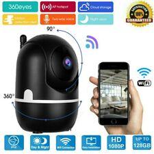 1080P HD WIFI IP Kamera Überwachungskamera Innen Webcam Funk Wlan IR Nachtsicht