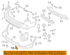 KIA OEM 14-15 Sorento Front Bumper-License Molding 865181U500