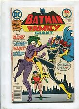 THE BATMAN FAMILY #9 (7.0) JOKER'S DAUGHTER APPEARANCE!