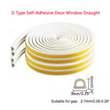 Self Adhesive Rubber Foam Draught Excluder Door Window Seal Draft Strip Tape-L