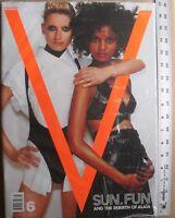 LIYA KEBEDE / NINA HEIMLICH Summer 2000 V Magazine No 6 NEW