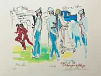 LEROY NEIMAN + 1972 OLYMPICS + HAND SIGNED SERIGRAPH + A.P. LTD EDITION OF 150