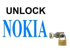 Unlock Code for Nokia 1 , 2 , 2.1 , 3 , 3.1 , 5 , 5.1