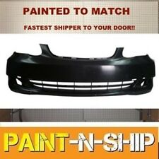 Fits; 2005 2006 2007 2008 Toyota Corolla CE Front Bumper Painted (TO1000297)