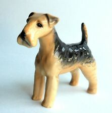 """Beswick Terrier 3"""" Dog Figurine Airedale Lakeland Made in England"""
