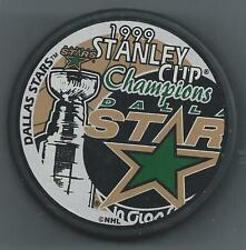 1999 Stanley Cup Champions  Dallas Stars  Souvenir Hockey Puck