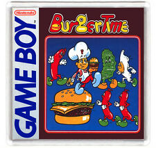 BURGER TIME NINTENDO GAME BOY FRIDGE MAGNET IMAN NEVERA