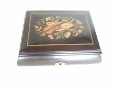 Sorrento Made in Italy Sorrento Instrument Black Lacquer music box