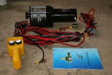 More details for electric hoist - 12v 3000lb vehicle mounted crane winch - winch only - used item