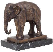 Statuette d´éléphant - bronze - style antique - 23 cm