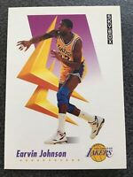 "EARVIN ""MAGIC"" JOHNSON 1991-92 SKYBOX Basketball Card #137 - LOS ANGELES LAKERS"