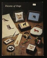 Dozens of Dogs Counted Cross Stitch Pattern Booklet