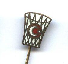 pin Turkey Basketball Federation badge Türkiye Basketbol Federasyonu TBF