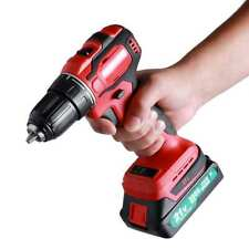21V Electric Drill without Drill accessories EU PLUG with 2 batteries