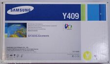 NEW ! GENUINE Samsung CLP-310 CLP-315 CLX-3170 CLX-3175 Yellow Toner Y409
